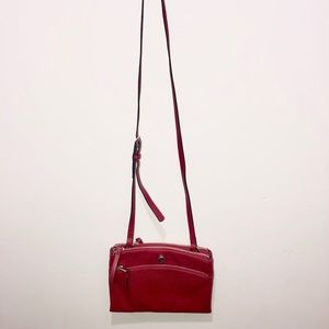 RED NINEWEST CROSSBODY BAG